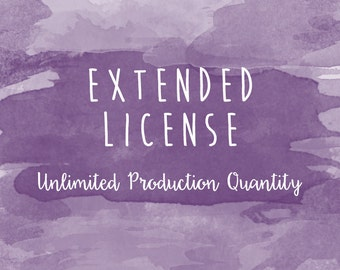 Extended Commercial License - Ulimited Product Quantity