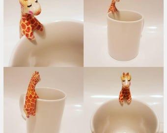 Giraffe tea buddy