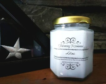 6 oz Pure Soy Wax Candles