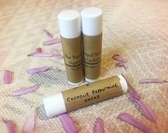 Organic Coconut Peppermint Lip Balm