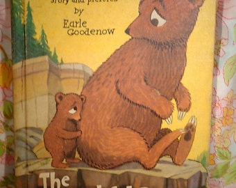 The Bashful Bear + Earle Goodenow + 1956 + Vintage Kids Book