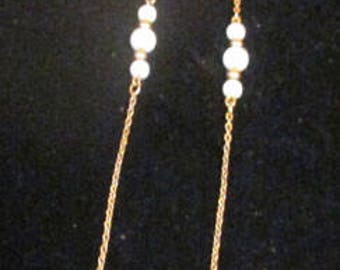ANTIQUE Sarah Coventry Jewelry - White Elegance Necklace  #8066