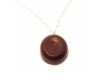Chocolate Rolo necklace