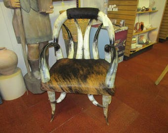 Texas Longhorn Chair