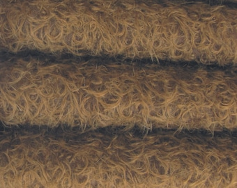 Quality 325S/CM - Mohair-1/4 yard (Fat) in Intercal's Color 549S-Chocolate. A German Mohair Fur Fabric for Teddy Bear Making, Arts & Crafts