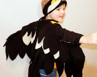 Bird costume / Kids bird Costume/ Girl bird costume/ Boy bird costume/ Bird dress up/ handmade costume/ Halloween costume