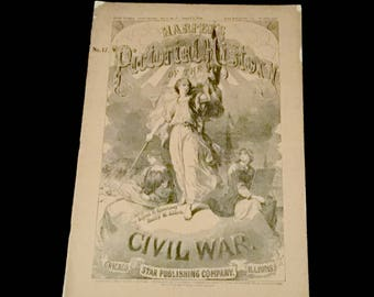 1894 Vol. 17- Harpers Pictorial History of the Civil War        VG2667