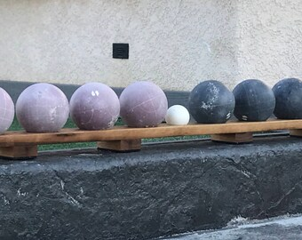 Bocce Ball Rack With Rubber Feet