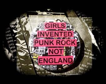 Mirror 56 mms 'Girls invented Punk Rock Not England'
