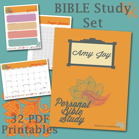 Men bible study journal pages