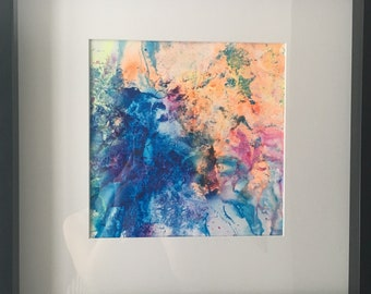 Original acrylic wall art painting for sale
