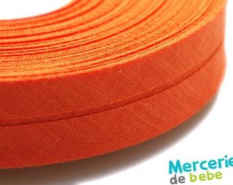 Through 20 mm - Orange clear Uni - by the yard