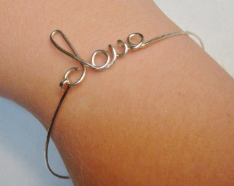 Bangle Bracelet   Bangle Bracelets  Love Bracelet  Love Bangle Bracelet  Sterling Silver Bangle Bracelet