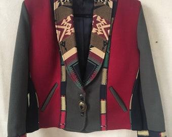 Vintage Coloratura jacket ladies medium USA