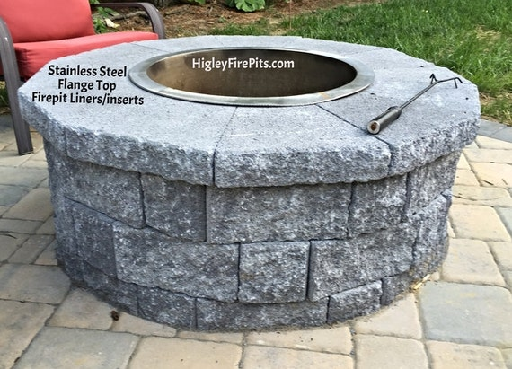 - 36 Diameter Stainless Steel Fire Pit Ring Liner-Insert