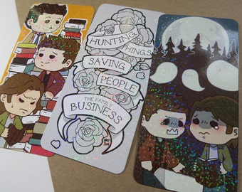 SALE supernatural prism bookmarks