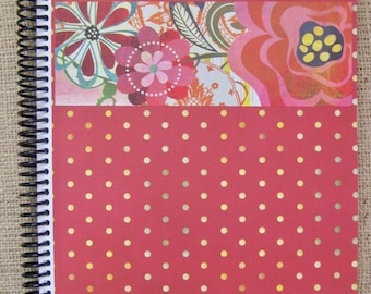 """itsjustemmy August 2018 to July 2019 Weekly Day Planner with the """"Nashville"""" Design Handmade Cover"""
