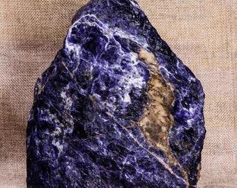 EXTRA LARGE Rough Raw Blue Sodalite,Geode Pendants,Sodalite Specimen,Meditation Stone,Chakra Stone,Valentines Ideas for Husband,Decor#3410