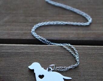 labrador, lab retriever charm | necklace