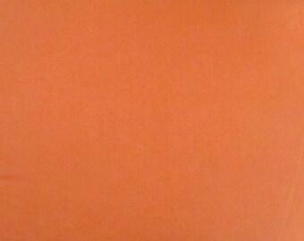 Pumpkin Orange Solid Fabric - Riley Blake - C100-72 - Halloween