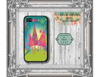 Christmas Tree iPhone Case, Holiday iPhone Case, Gift for Her Phone Case, iPhone 7, 7 Plus, iPhone 6, 6 Plus, SE, iPhone 5, 5s, 5c, 4, 4s