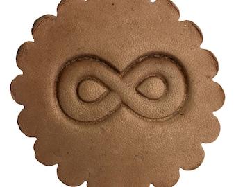 3D Leathercraft Stamp Infinity Symbol 8669-00