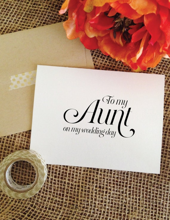 my aunt wedding day A loving aunt can be an invaluable figure in the lives of her nieces and nephews browse our collection of poems about the relationship between aunts and nieces and nephews menu search login.