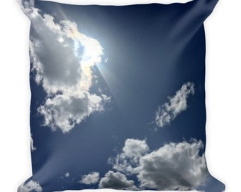 Head on the Clouds D - cloud pillow - Home Decor Pillow Covers - 2 sizes available