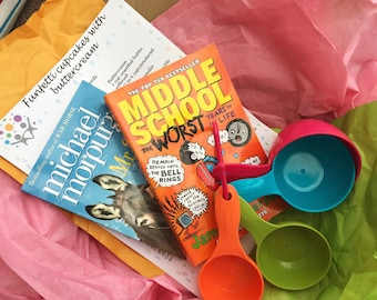 Books and Bakes Club 1 month subscription