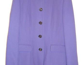 Purple Skirt Suit Fabrizio Lenzi
