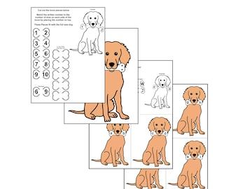 Dog Alphabet & Number Activities