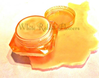 Orange Scented Lip Balm, No Taste, Approximately 4 Grams, See Description For Ingredients