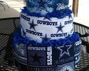 Cowboy diaper cake Etsy