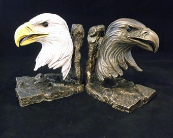 Eagle Bust, Bronze, eagle sculpture, eagle head, eagle pedestal, eagle mascot, school mascot