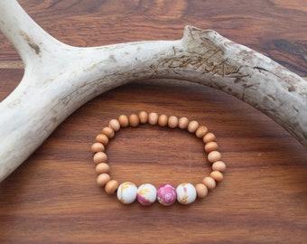 Floral Children's Stretch Bracelet