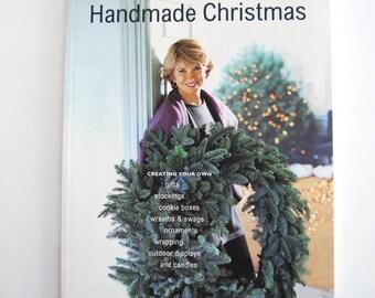 Vintage Book, The Best of Martha Stewart Living, Handmade Christmas