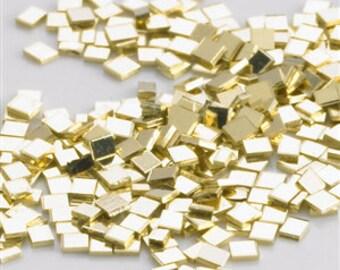 14k Yellow Gold Solder Chips, Quantity 48 pcs., Easy/Medium/Hard Solder Chips, Soldering Supplies