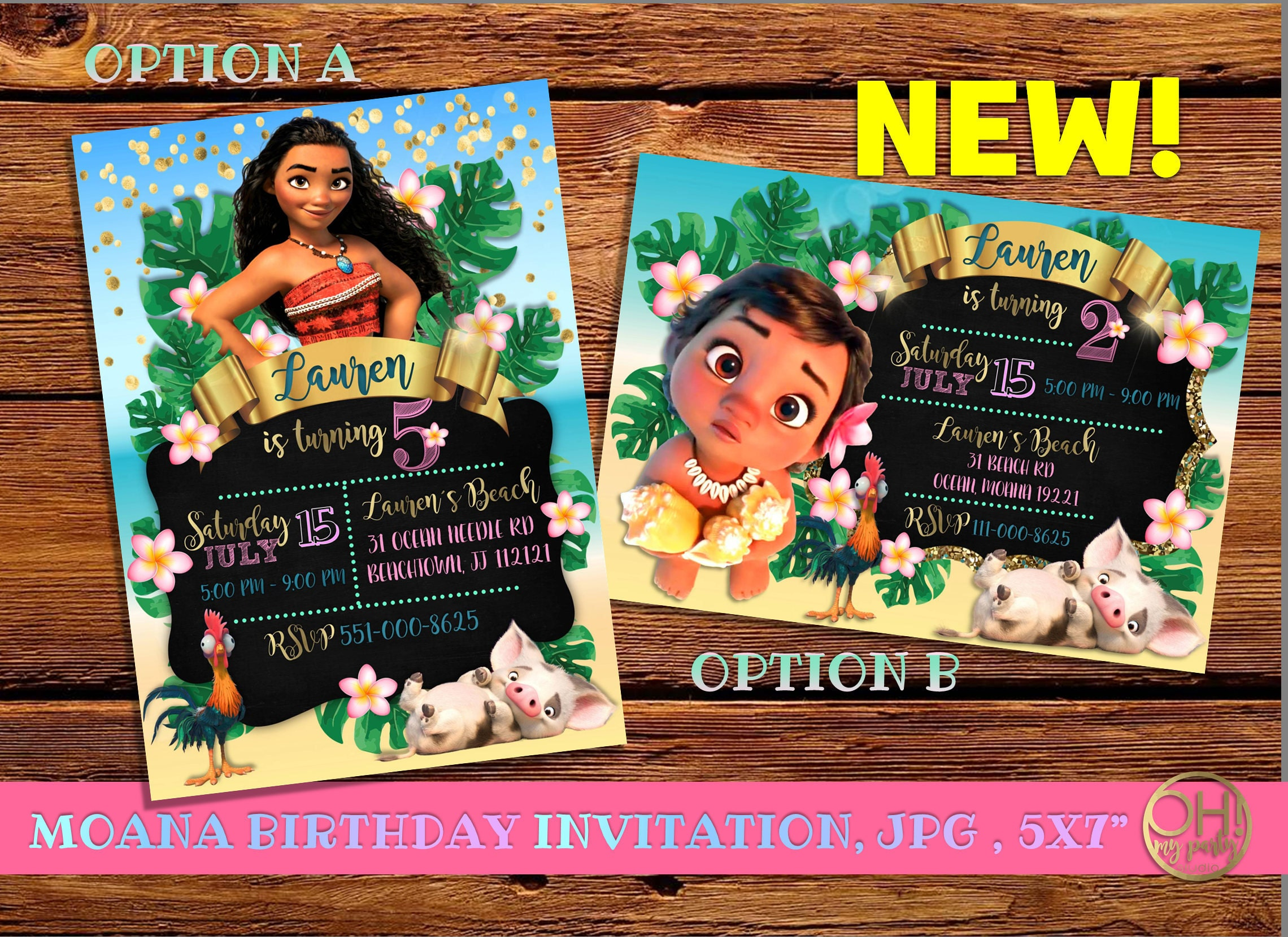 moana invitation template free - moana invitation moana birthday invitation moana party