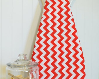 Designer Ironing Board Cover - Riley Blake Chevron Red