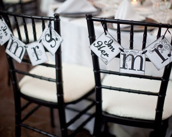 Im Her Mr. and Im His Mrs. Wedding Banners | Wedding Sign | Wedding Banner | Mr. and Mrs. Wedding Decor | Wedding Garland