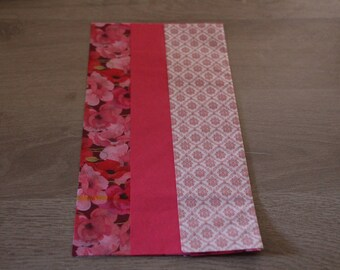 Deco patch three pink colors