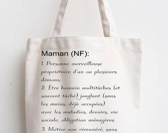 Bag cotton MOM definition MOM gift