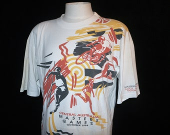 Central Australia Masters Games 1994 T-shirt