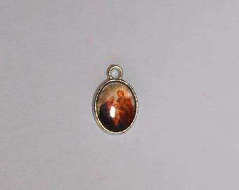 Christian medallion, 15 mm, the child Jesus