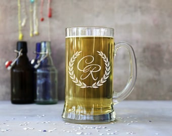 Personalised Monogram 2 Pint Stein Tankard
