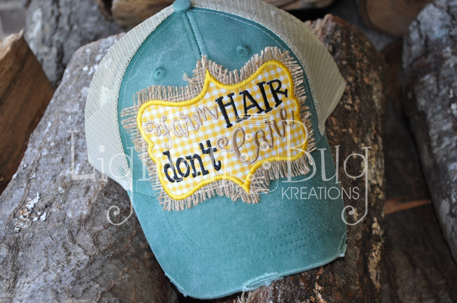Farm Hair Don\'t Care Hat