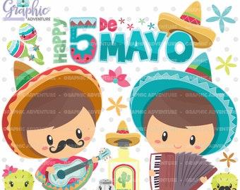 75%OFF - Mexico Clipart, 5 de Mayo Clipart, Festive 5 de Mayo, Mexican Clipart, Mexican Graphics, COMMERCIAL USE, Mexico Graphics, Mexican