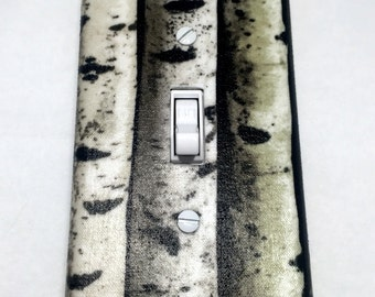 Aspen Trees Light Switch Plate Cover / Outlet Cover / Bedroom / Home Decor / Baby Shower Gift / Nursery Decor / Kid's Room / Forest / Tree