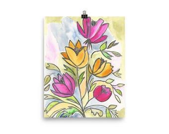 Spring Floral - Poster