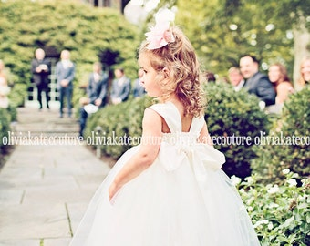 As Seen on The Knot Instagram page, Flower Girl Dresses, Flower Girl Ivory, Wedding Dress Baby White, Princess Toddler Tulle Tutu, Weddings